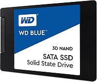 Твердотельный накопитель 250GB SSD WD Серия BLUE 3D NAND 2.5 SATA3 R550Mb-s, W525MB-s WDS250G2B0A.
