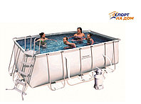 Каркасный бассейн Bestwey 56457 (габариты: 412*201*122 см, на 8703 л)