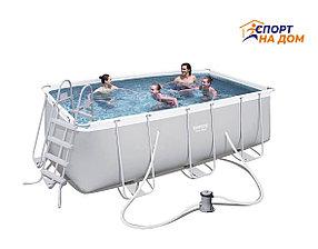 Каркасный бассейн Bestwey 56456 (габариты: 412*201*122 см, на 8703 л)