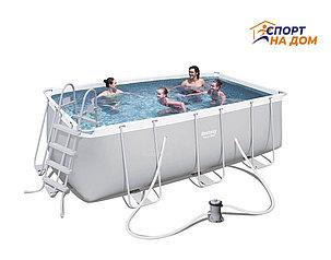 Каркасный бассейн Bestwey 56456 (габариты: 412*201*122 см, на 8703 л), фото 2