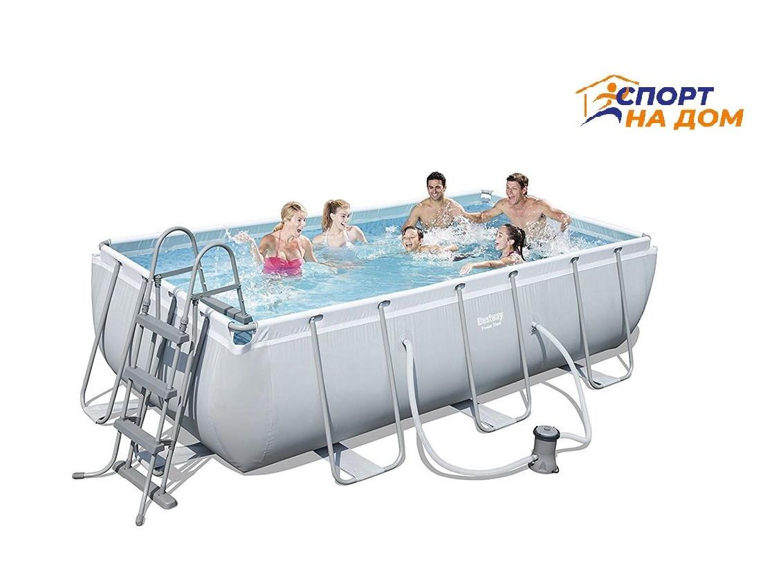 Каркасный бассейн Bestwey 56441 (габариты: 404*201*100 см, на 6478 л)