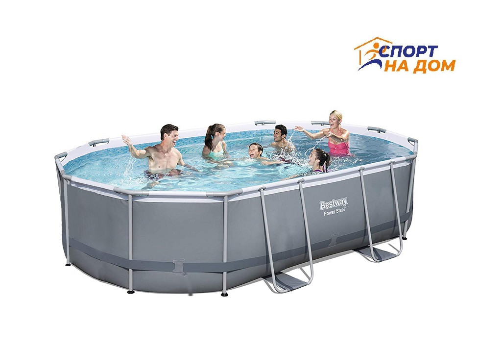 Каркасный сборный бассейн Bestwey 56620 (424*250*100 см, на 7250 л)