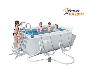 Каркасный бассейн Bestwey 56629 (габариты: 282*196*84 см, на 3662 л), фото 2