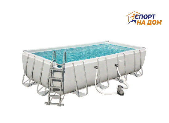 Bestwey 56465 каркасный бассейн (габариты: 549*274*122 см, на 14812 л)