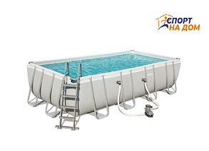 Bestwey 56465 каркасный бассейн (габариты: 549*274*122 см, на 14812 л), фото 2