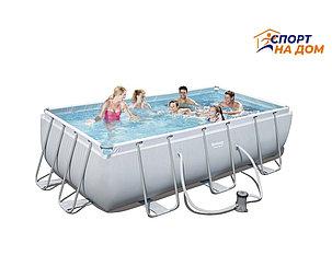 Большой каркасный бассейн Bestway 56251 (габариты: 404*201*100 см, на 4531 л), фото 2