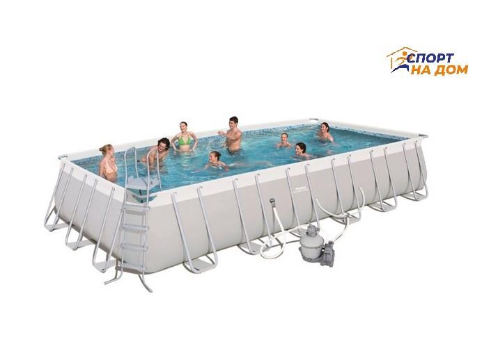 Большой каркасный бассейн Bestway 56475 (732*366*132 см, на 30045 л)