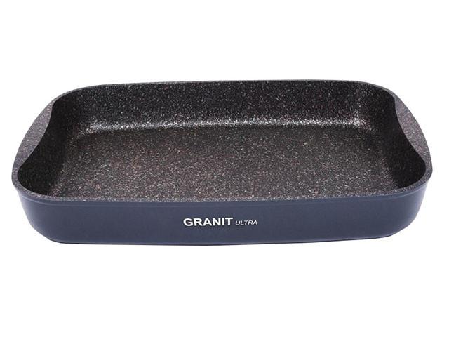 """Противень 365х260х55, каменное антипригарное покрытие """"Granit Ultra"""""""