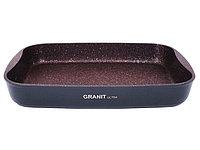 """Противень 400х295х50, каменное антипригарное покрытие """"Granit Ultra"""" (red), фото 1"""
