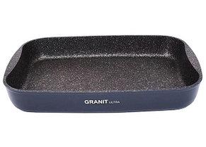 """Противень 400х295х50, каменное антипригарное покрытие """"Granit Ultra"""""""