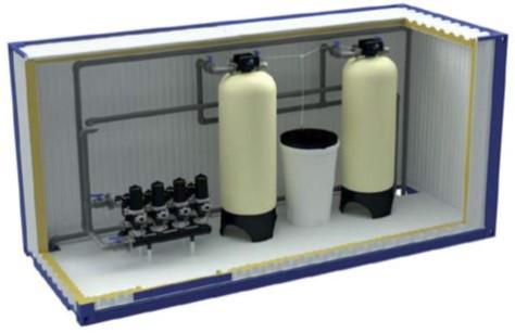 Блочно-модульные станции водоподготовки AWT Серия Е (Energi)