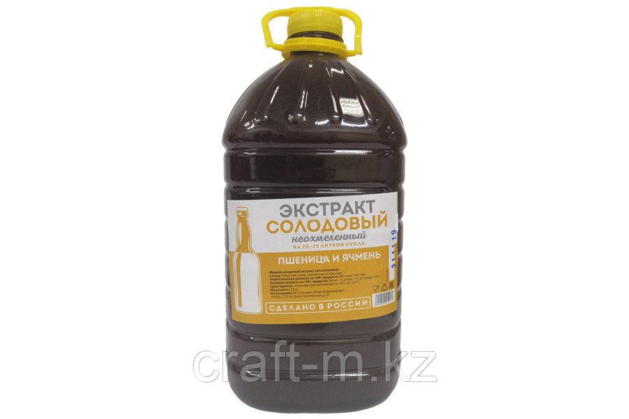"""""""Пшеница и ячмень"""" Жидкий неохмеленный солодовый экстракт, 3,9 кг"""