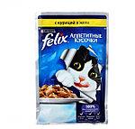 Felix с курицей в желе, аппетитные кусочки