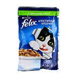 Felix с кроликом в желе, аппетитные кусочки