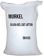 Murkel, Муркель силикагелевый наполнитель для кошек без ароматизатора, уп.44л (20кг)