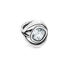 Кольцо / CRISTAL - Swarovski (18 размер) ЕВ105