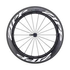 Zipp  колесо переднее 808 Carbon Clincher Rim Brake 700c 18-spokes QR white decals