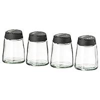 Набор из 4 банок для специй IKEA ИГЭРДИГ, 150мл
