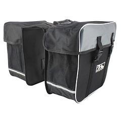 "Сумка на багажник M-WAVE DAY TRIPPER"" Polyester 600 D, black,  34 x 17 x30 cm"