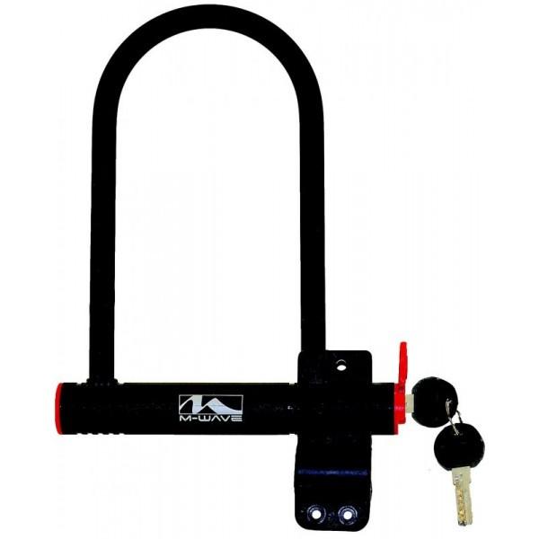 Замок M-WAVE shackle lock  U-type lock,180X245mm