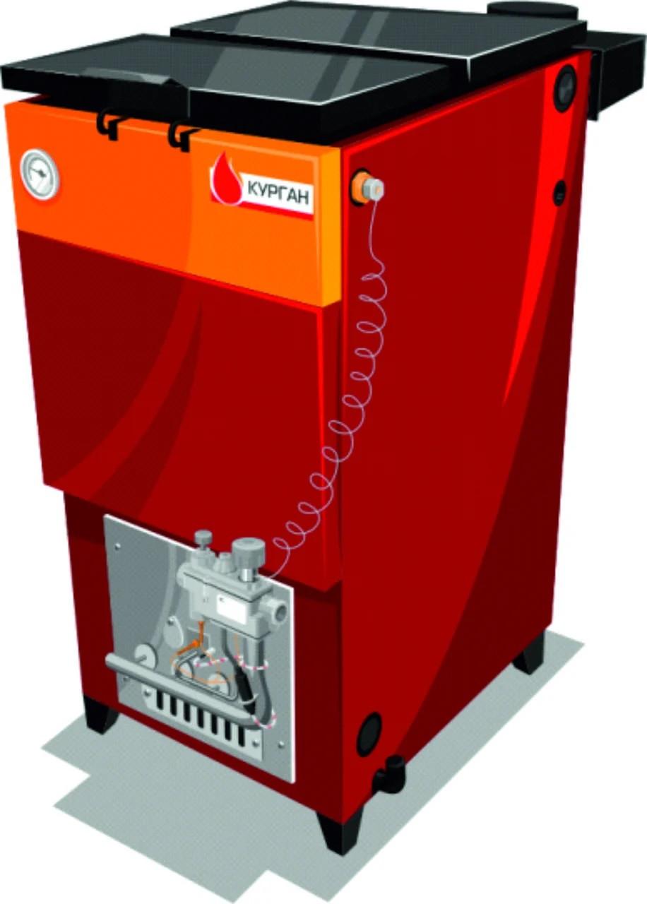 Отопительный котел 10-КСТГ (газ,уголь)