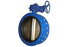 Затвор дисковый поворотный 16 бар- DN 350