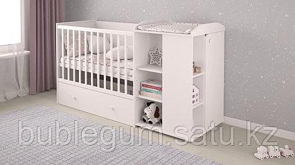 Кроватка Polini kids French  Amis 800 с комодом