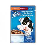 Felix Аппетитные кусочки с индейкой и печенью в желе