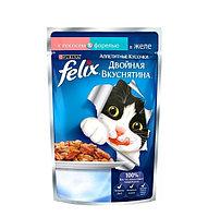Felix Двойная вкуснятина с лососем и форелью в желе