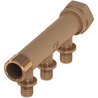 Коллектор TECEflex из бронзы/кремнистой бронзы