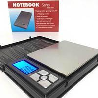 Весы ювелирные / аптечные высокоточные с большой платформой NOTEBOOK Series {500 ± 0.01}