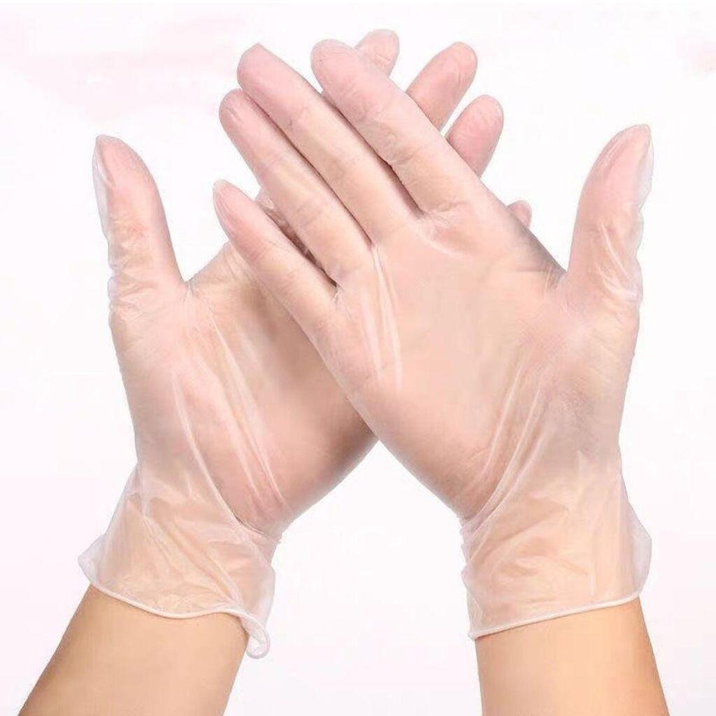 Перчатки виниловые, не стерильные, не опудренные