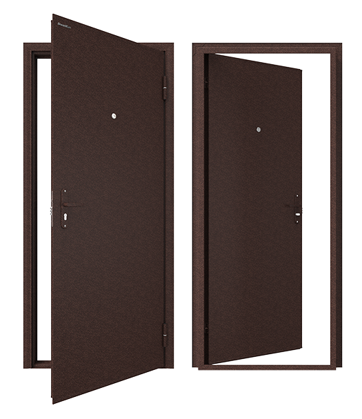 Стальная входная дверь ЛИДЕР Doorhan