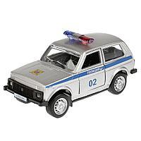 Машинка Lada 4x4 Полиция 12 см, Технопарк