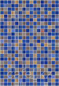 Кафель | Плитка настенная 28х40 Гламур | Glamour 2Т голубой