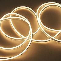 Флекс неон, гибкий неон, 220 Flex Neon, размер 8*16 мм, теплый свет