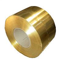 Лента латунная 0,5 мм Л63