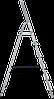 Стремянка комбинированная 6 ступени, фото 3