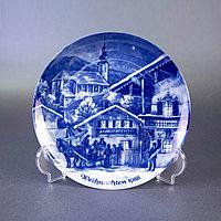 Рождественская тарелка «Рождество в Руфольдинге» Производитель Berlin Design. Германия. 1988 год