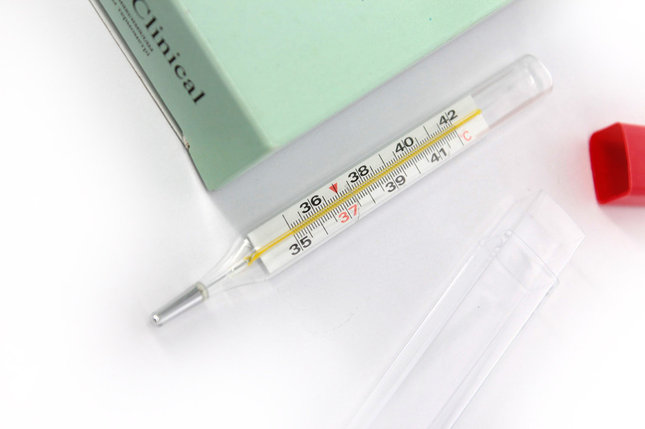 Термометр ртутный максимальный стеклянный, фото 2
