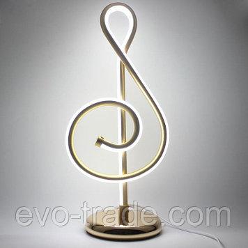 Настольный светильник в виде скрипичного ключа COOBATG