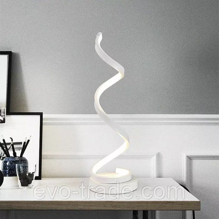 Настольный светильник спираль OVKA