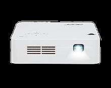 Acer MR.JR011.001 проектор C202i, 854x480 dpi, 300 ANSI люм, портативный светодиодный