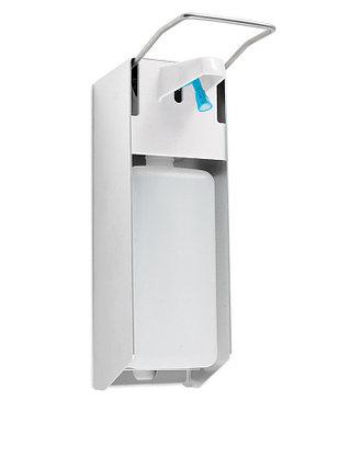 Локтевой дозатор с Евро канистрой 1 литр, фото 2