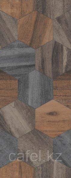 Кафель | Плитка настенная 20х50 Миф | Mif коричневый 1