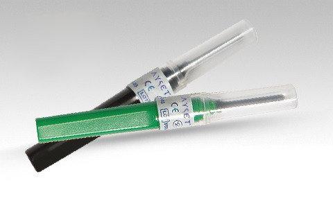 Игла двусторонняя стерильная 21G(зеленый), 22G(черный), 23G(голубой), фото 2