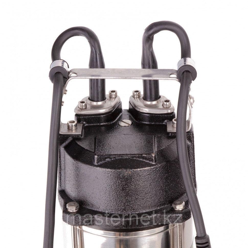 Фекальный насос СФН1500-Н, 1500 Вт, напор 19 м, 25000 л/ч, нож// Сибртех - фото 6