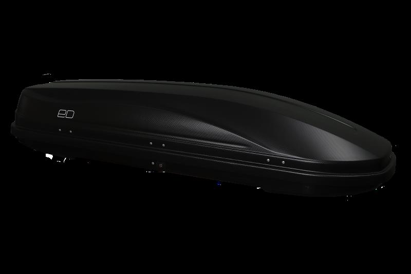 Бокс автомобильный Магнум 330 (чёрный,тиснение карбон) (1850х600х420)