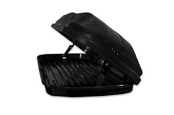 Бокс автомобильный Магнум 420 (чёрный, тиснение «камуфляж») (1990х740х420) Быстросъём