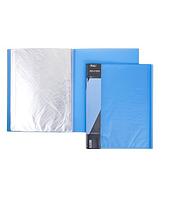 """Папка пластиковая """"Hatber"""", А4, 700мкм, 20 вкладышей, 14мм, серия """"Diamond Синяя"""""""
